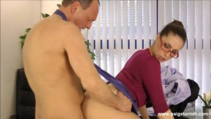 Paige Turnah Please The Boss office sex