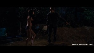 Jessica Alba in Little Fockers 2010 small Tits Black Lingerie