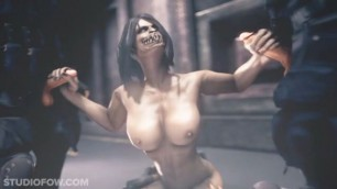 MORTAL KOMBAT X MILEENA HENTAI AND TWO COCK