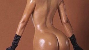 beautiful KIM KARDASHIAN NUDE