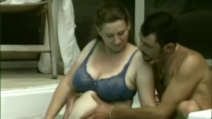 Busty pregnant Agata chick seduced into ramming outdoors