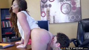 Fantastic bombshell Hot Maddy Oreilly takes it in her big ass