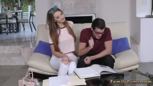 Teen Norma rough music and cum in tiny pussy first time