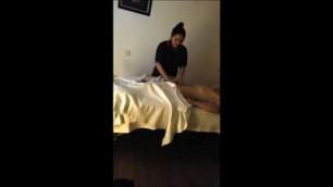 Brunette Lance Thai Massage Hidden Cam
