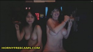 Double Glory Hole Blowjob For Stepmom And Me