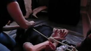 hogtied Cute maid punishment Franziska