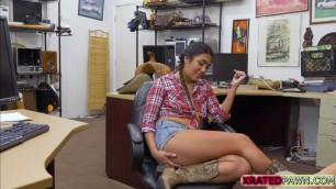 Naughty Latina Lexie Banderas pleasing some horny Dude