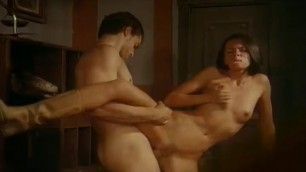 Hardcore fuck in wild Willa west with a cowgirl fucking the