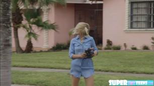Woman next door Brice Bardot gets horny and fucks JMacs cock
