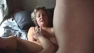 Mature couple sex in an old caravan Iva