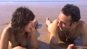 Tiffany Thompson on the beach