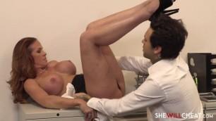 Sabrina Cyns Latina Sabrina Cyns Has An Office Affair beautiful shaved pussy