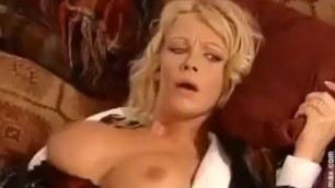 Vivian Schmitt Cheating Housewife sex by 2 guys