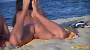 Amateur Voyeur Naked Couple Back Shaved Pussy Beach Video