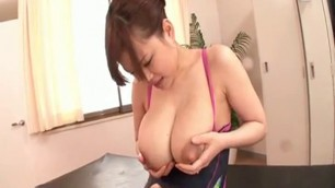 Lactating japanese big tits milf
