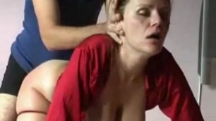 A milf whore who gets it real hardcore