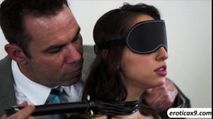 Slutty babe Sara Luvv in a hard taboo fuck session