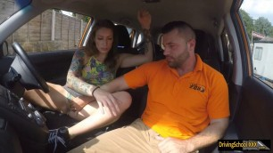 Ava Austen banged by driving instructor