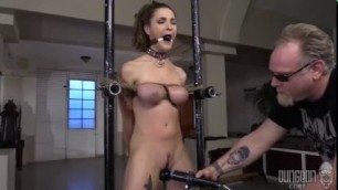 Molly Jane Big Boobs Beauty BDSM Hard core Beauty on Bottom 2