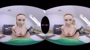 18VR Fuck on ass Daily Routine With Eva Berger VR Porn