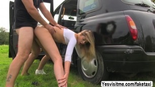 Babe Rhiannon gets banged from behind in doggystyle position