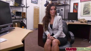 Victoria Banxxx fantastic pussy gets fucked in the office