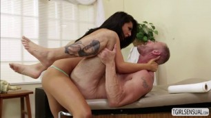 Tgirl Chanel Santini gives dude a hot anal fuck