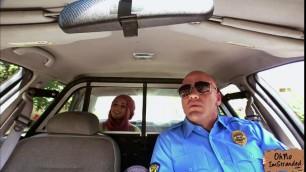 Badass cutie Aidra Fox fucks a hunk arresting officer