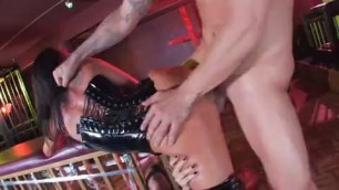 Asa Akira Sophia Santi dirty whores suck erect dick