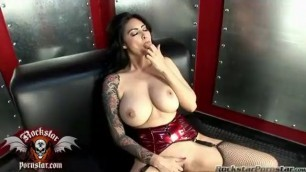 Tera Patrick sultry babe in sexy lingerie Fucks with man