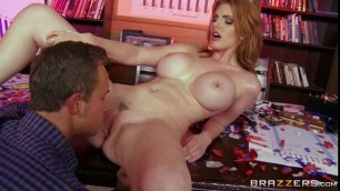 Lilith Lust Beauty with big breasts gets cock in pussy Titty Tape