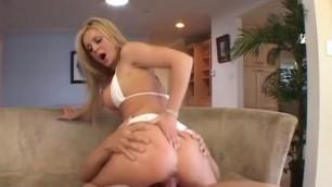 Exotic pornstar Denise Klarskov in incredible blonde Sex video