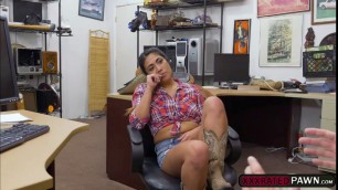 Busty Lexi Banderas gets fucked in the ass for money