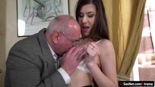 19yo Turkish Anya Krey fucked by old guy