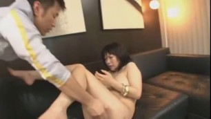 Crazy Japanese chick Yuuna Hoshisaki in Hottest Toys Cumshot video