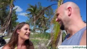 Busty slut Kendra Heart swallows a stranger bigcock