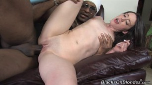 janie jones girl with a small body fucks with a black man