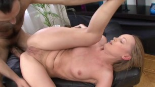 Cute Russian girl Katee fucks with a man on porn casting