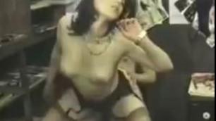Girl Karola sucks cock Exotic Vintage High Heels Sex video