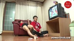 Sensuous Korean Fingering Girls caress pussy