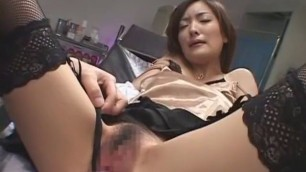 Exotic Japanese whore Erika Tokuzawa in Crazy Fingering Awesome Blowjob JAV clip