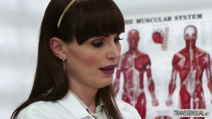 T-babe  Natalie Mars fucks her female patient