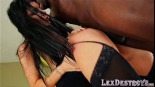 Nikki and Romi gets their pussies bang