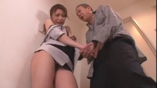 Crazy Japanese chick Rena Kazuki in Incredible Couple Awesome Blowjob
