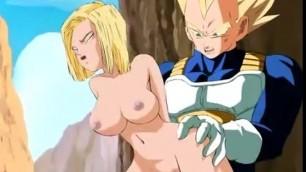 DRAGON BALL Z HENTAI Porn cartoon with anal sex
