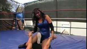 Lovey dovey Hot Girls Female pro wrestling 4