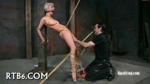 Sexual punishment Depraved Blonde Abigaile Fetish Hard sex