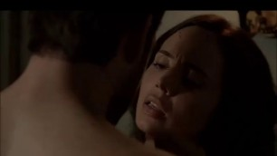 Seductive Brunette ELIZA DUSHKU NUDE SEX SCENE FROM BANSHEE