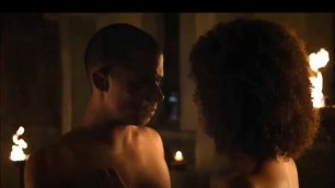 Curly Ebony NATHALIE EMMANUEL NUDE SEX SCENE FROM GAME OF THRONES