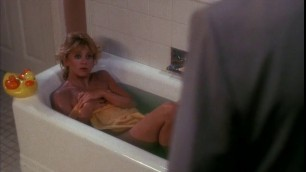 Romantic Blonde Goldie Hawn nude Wildcats 1986